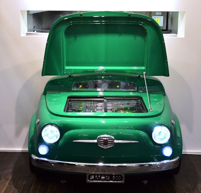 Fiat And Iconic Refrigerator Company Smeg Reveal The