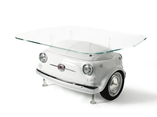 Fiat And Iconic Refrigerator Company Smeg Reveal The 500 Fridge
