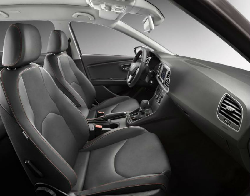 Seat leon st estate pricing specification and release date for Seat leon interior