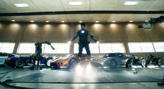 Iron man s iconic supercar collection revealed for Garage tony auto