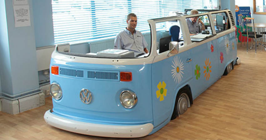 Motorcaravan Company Staff Create Their Ideal Camper Van