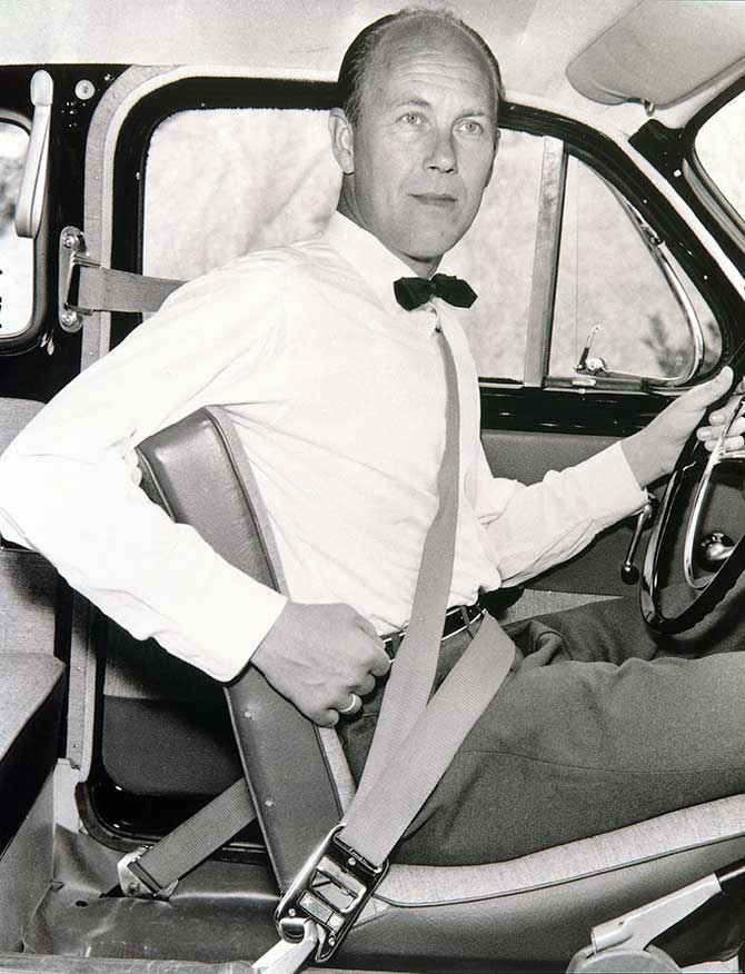 Nils Bohlin Volvo Inventor of the Seatbelt